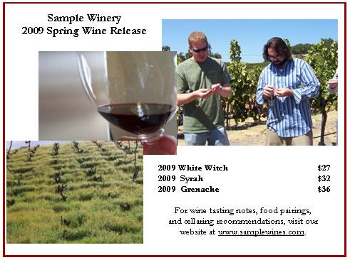 Sample Wines 2