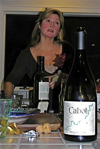 Cabot Syrah and Brigit
